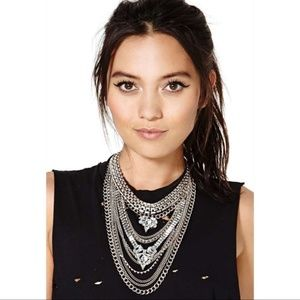 NWOT Nasty Gal Empire Necklace